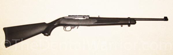 The Ruger 10/22 rifle