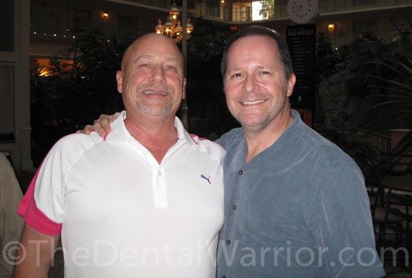 Howard Farran and me last Saturday in Fort Lauderdale.