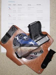 gun travel itinerary-