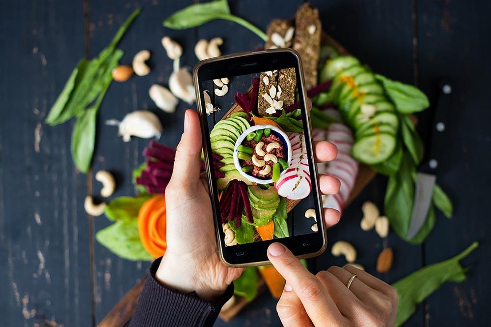 Food on social media