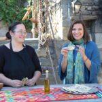 Diane Kochilas hosts the PBS series My Greek Table with Diane Kochilas.