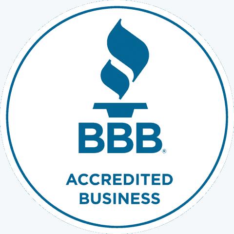 better business bureau badge circular retina