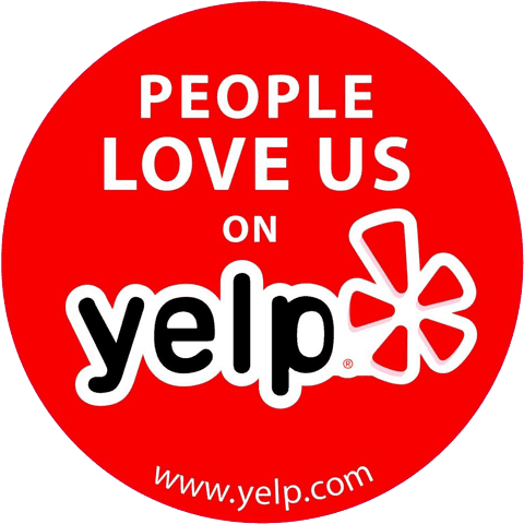 People Love Us On Yelp Badge