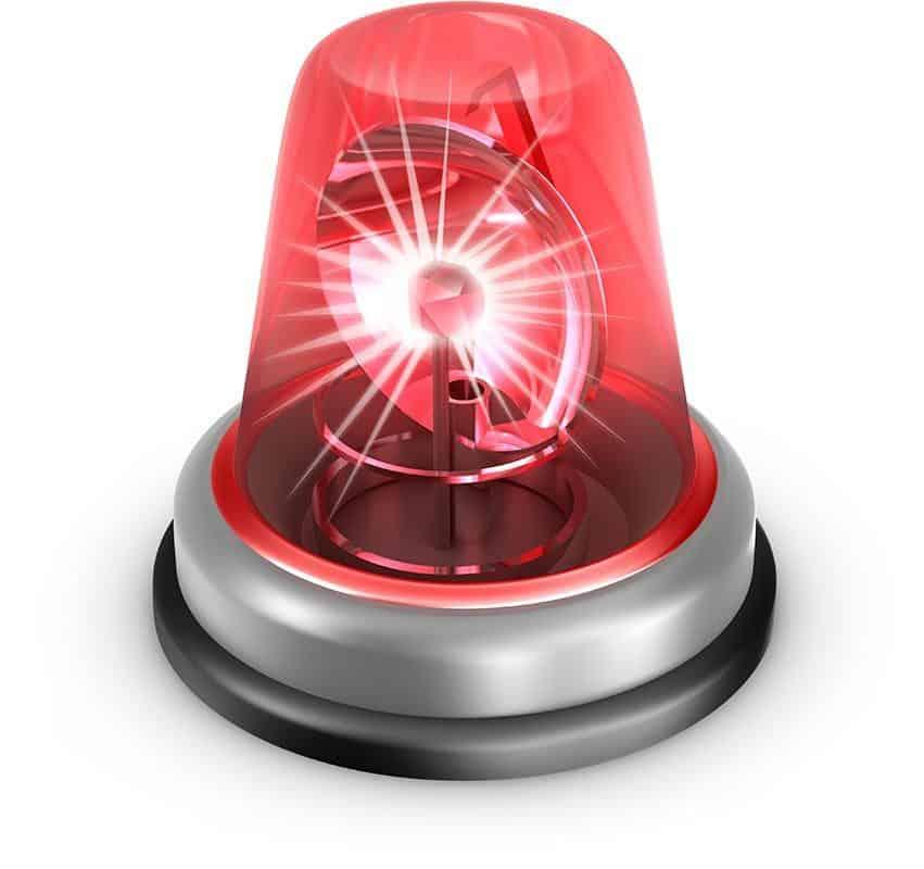 Emergency Siren Alarm Light