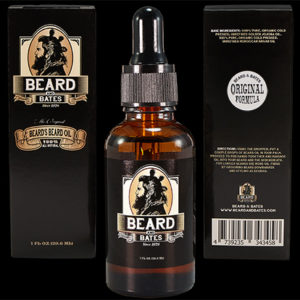 beard oil beard and bates original formula