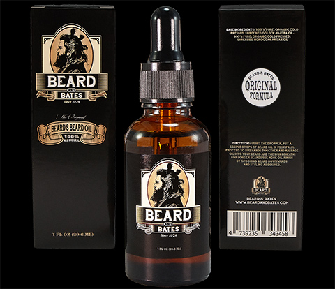 beard oil beard and bates original formula