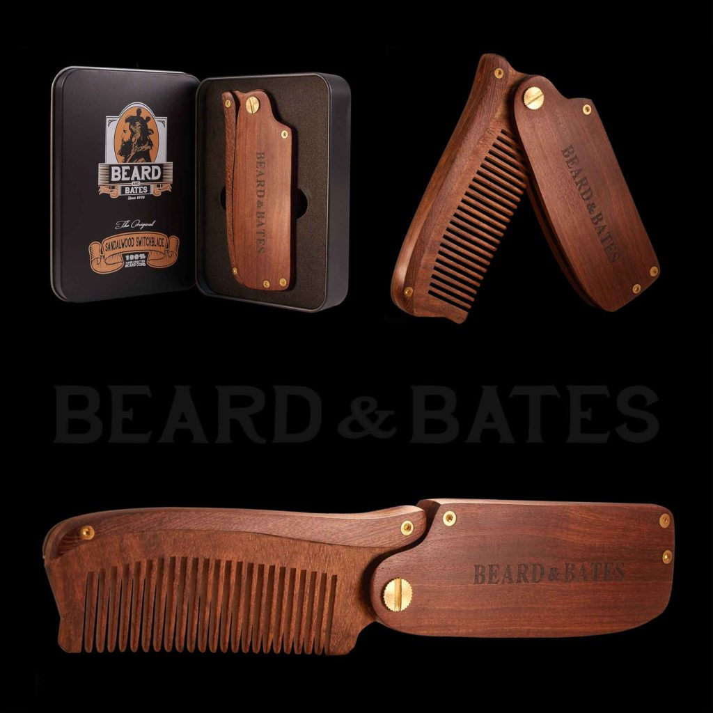 SANDALWOOD SWITCHBLADE - BEARD & BATES