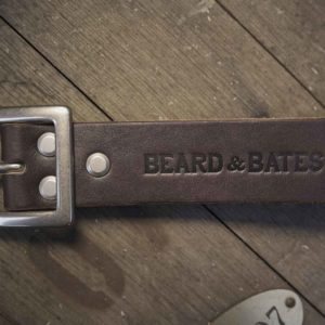 stuart belt american beard leather bridle strap