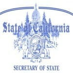 State of California Secretary of State