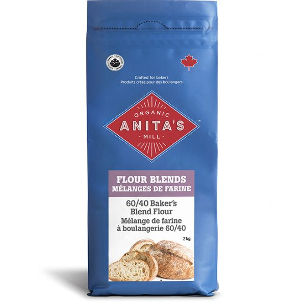 60/40 Bakers Blend | Anita's Organic Mill