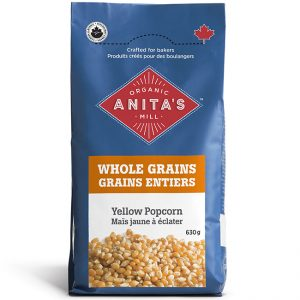 Whole Grain Yellow Popcorn_Anita's Organic Mill