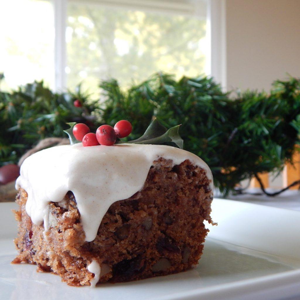 Apple & Pear Cake with Cinnamon Frosting | Anita's Organic Mill