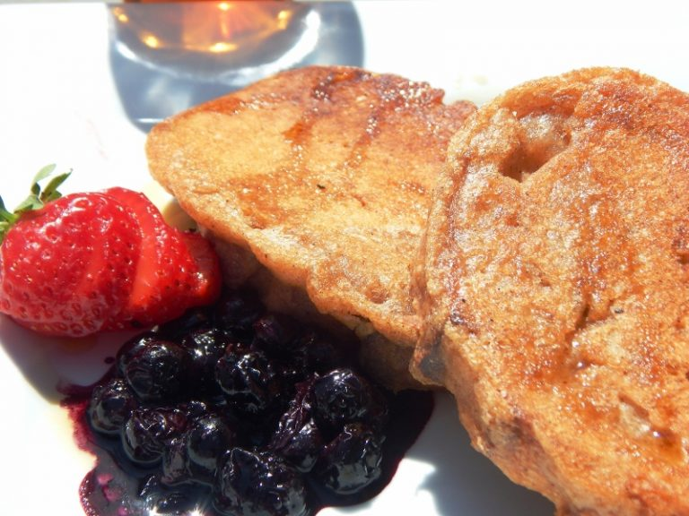 Beer Battered Ancient Grain French Toast | Anita's Organic Mill