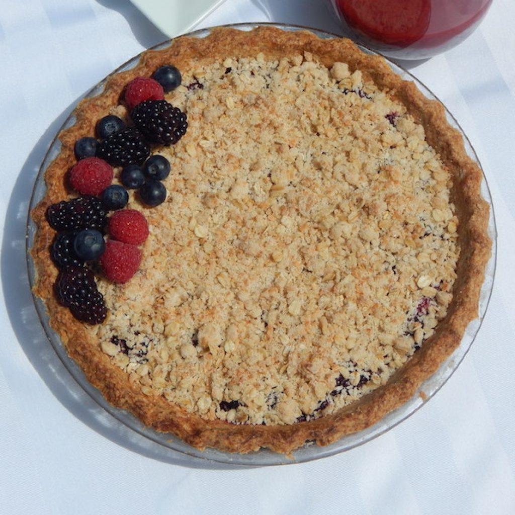 Berry Crumble Pie | Anita's Organic Mill