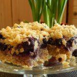 Blueberry & Coconut Crumble Bars | Anita's Organic Mill