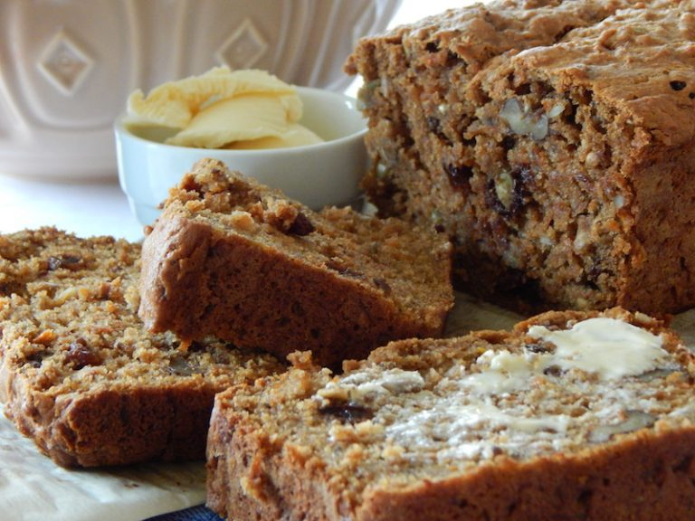 Breakfast Boost Morning Glory Loaf | Anita's Organic Mill