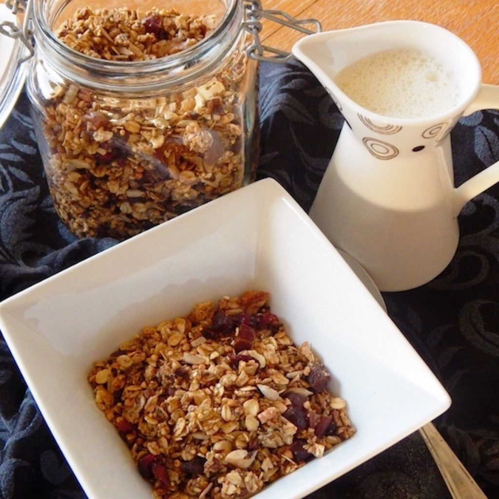 Crunchy Buckwheat Granola | Anita's Organic Mill
