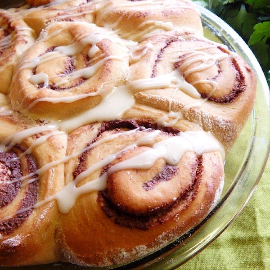 Chocolate Swirl Breakfast Roll   Anita's Organic Mill