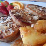 Fours the Score Pancakes with Cinnamon Glazed Pineapple | Anita's Organic Mill