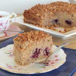 Blackberry Crumb Cake   Anita's Organic Mill