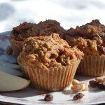 Gluten Free Apple Carrot & Raisin Walnut Muffins | Anita's Organic Mill
