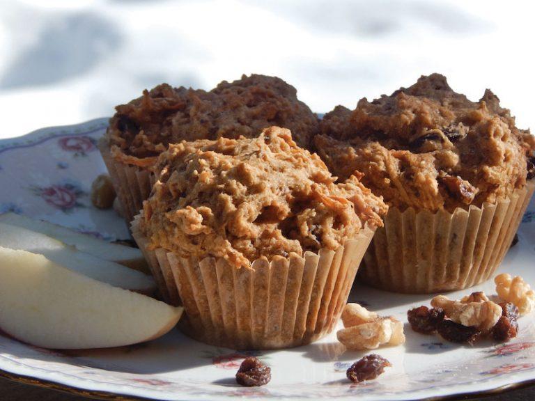 Gluten Free Apple Carrot & Raisin Walnut Muffins   Anita's Organic Mill