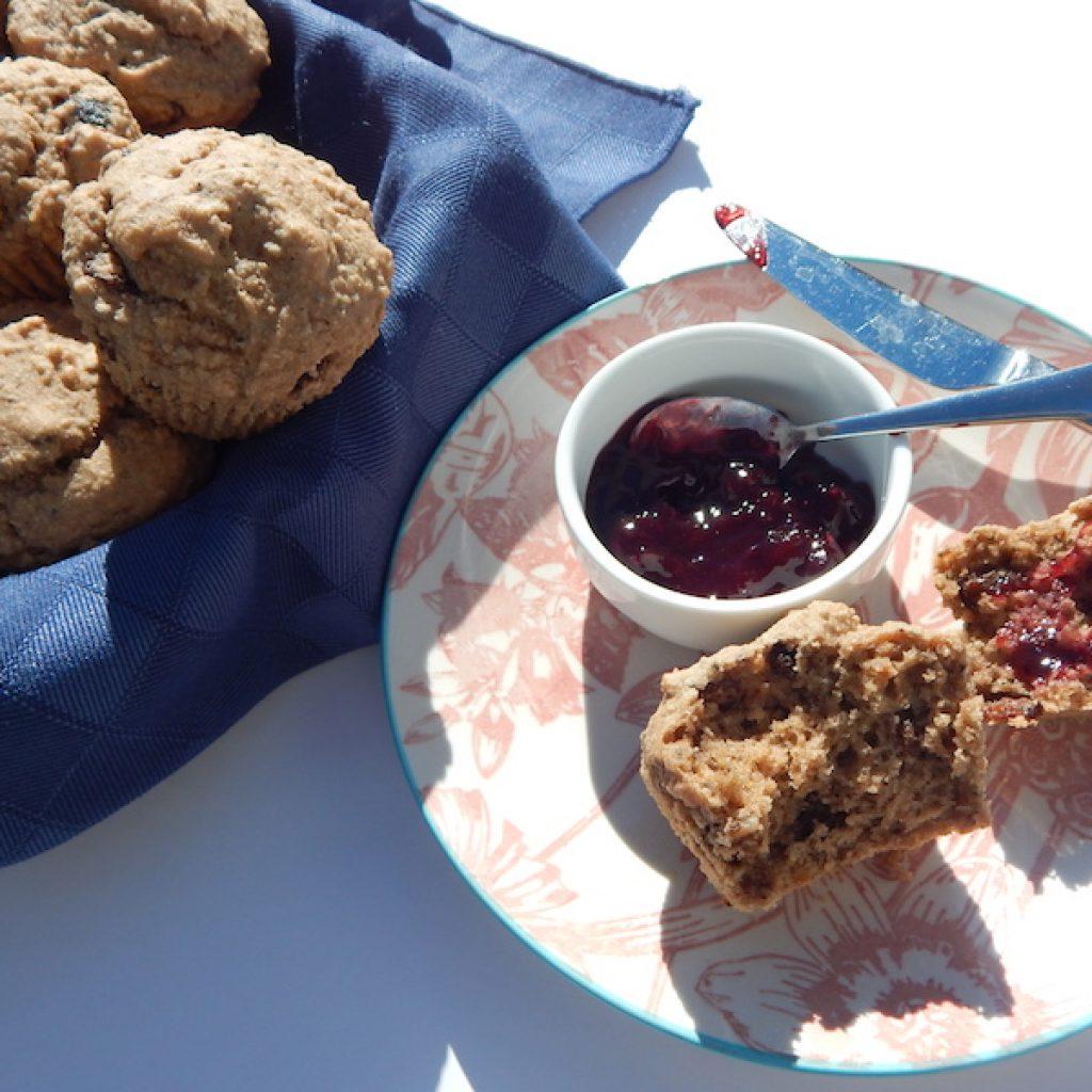 Gluten Free Raisin Bran Muffins | Anita's Organic Mill