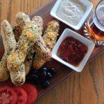 Herb & Garlic Bread Sticks   Anita's Organic Mill