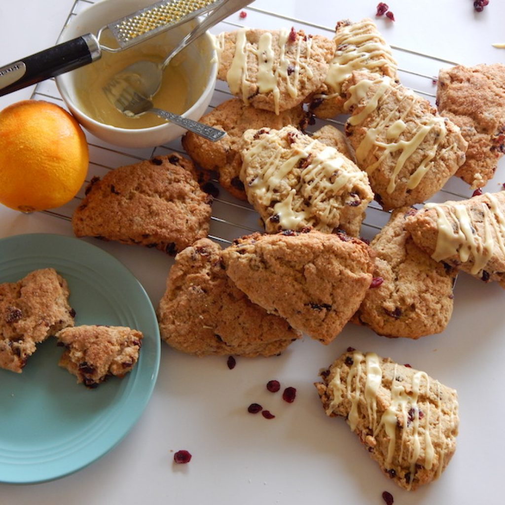 Kamut Cranberry & Orange Scones | Anita's Organic Mill