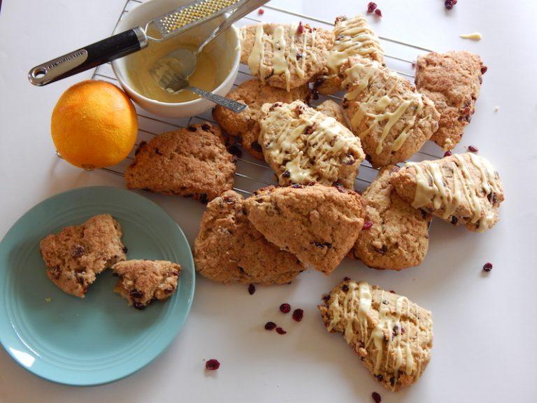 Kamut Cranberry & Orange Scones | Anita's Organic Mill