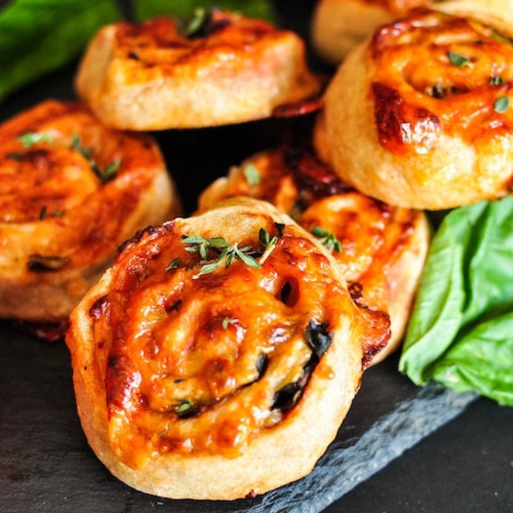 Spelt Pizza Roll Ups | Anita's Organic Mill