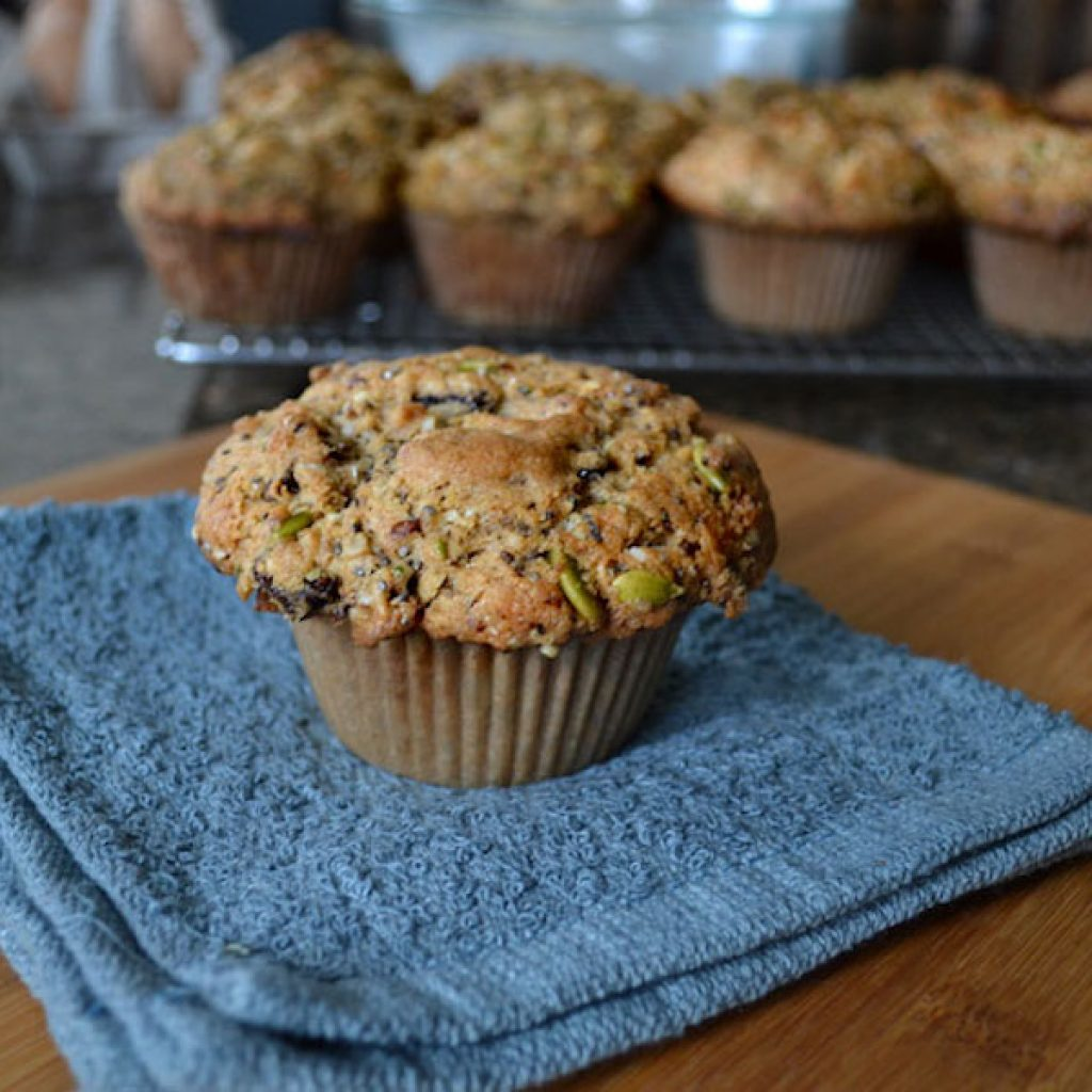 Power Muffins | Anita's Organic Mill