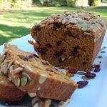 Pumpkin Cranberry Loaf | Anita's Organic Mill