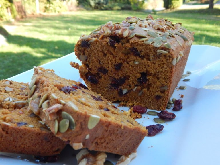 Pumpkin Cranberry Loaf | Anita's Organic Mill