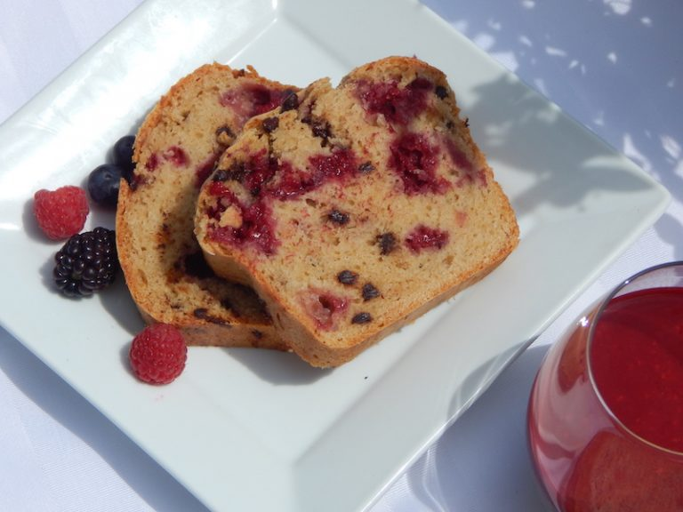 Raspberry Chocolate Chip Loaf | Anita's Organic Mill