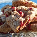 Sprouted Spelt Flour Cranberry & Walnut Scones | Anita's Organic Mill