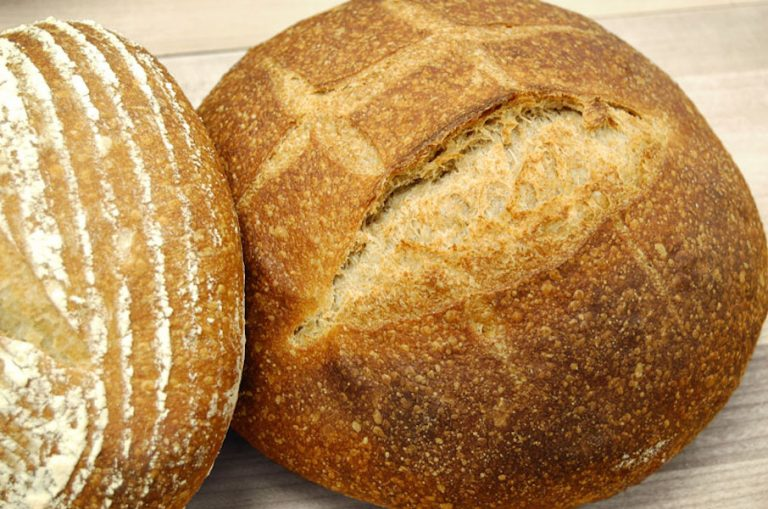 Sprouted Whole Wheat Sourdough Bread | Anita's Organic Mill