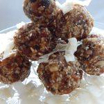 Walnut & Apricot Raw Energy Balls | Anita's Organic Mill