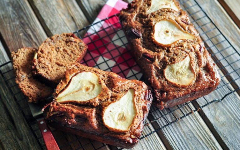 Pear Spice Loaf | Anita's Organic Mill