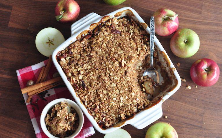 Spiced Apple Crisp | Anita's Organic Mill