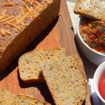 Spelt and Barley Chill Cheese and Herb Crock Pot Bread_Anita's Organic Mill