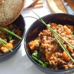 Rainbow Vegetable Stew with Einkorn, Lentils and Chickpeas | Anita's Organic Mill