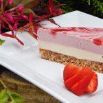 Strawberry Swirl Cheesecake | Anita's Organic Mill