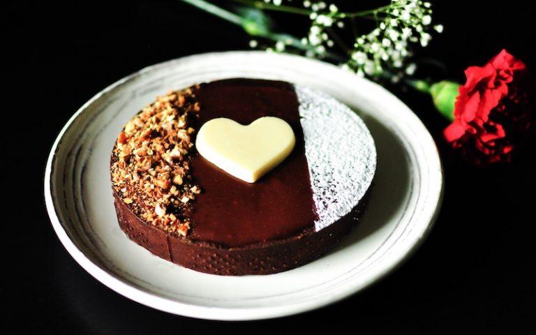 Chocolate Praline Tart | Anita's Organic Mill