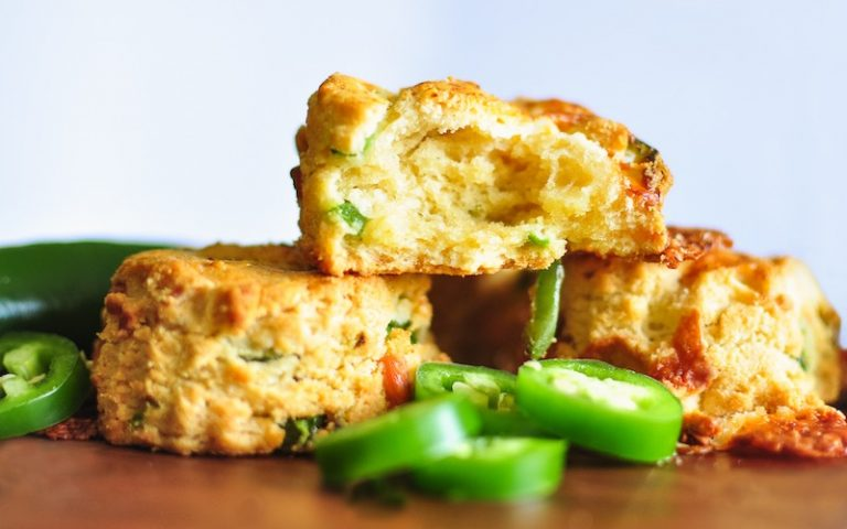 Gluten Free Jalapeno Cheddar Scones | Anita's Organic Mill