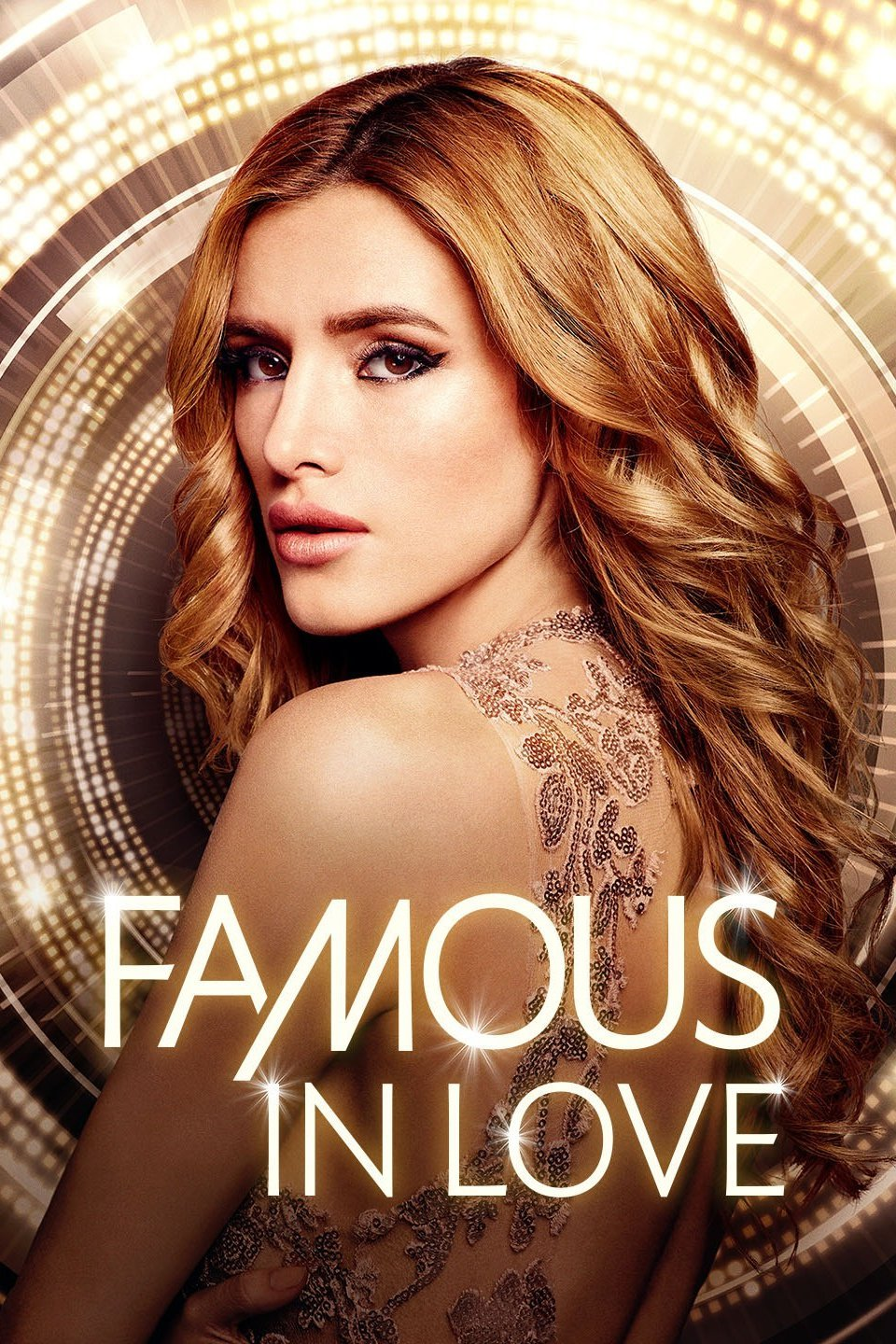 bella thorne on famous in love promo poster