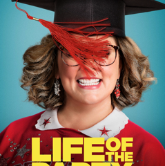 melissa mccarthy on life of the party movie poster