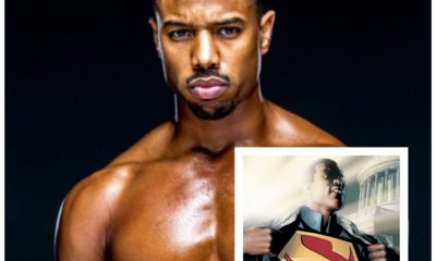 michael b. jordan as superman