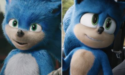 sonic the hedgehog movie makeover
