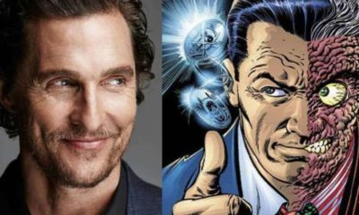 matthew mcconaughey two face casting